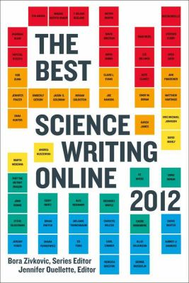 Best Science Writing Online 2012   2012 edition cover