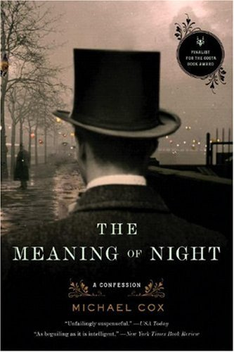 Meaning of Night A Confession  2007 edition cover