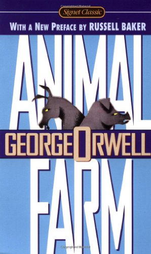 Animal Farm   1996 9780451526342 Front Cover