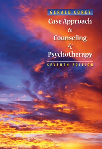 Case Approach to Counseling and Psychotherapy  7th 2009 edition cover