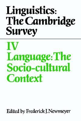 Language The Socio-Cultural Context  1988 9780521308342 Front Cover