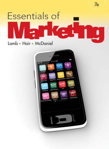 Essentials of Marketing  7th 2012 (Revised) 9780538478342 Front Cover