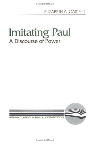 Imitating Paul A Discourse of Power N/A 9780664252342 Front Cover