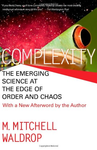 Complexity The Emerging Science at the Edge of Order and Chaos  1993 edition cover