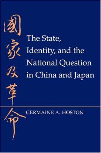 State, Identity, and the National Question in China and Japan   1995 edition cover
