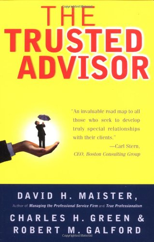 Trusted Advisor   2001 edition cover