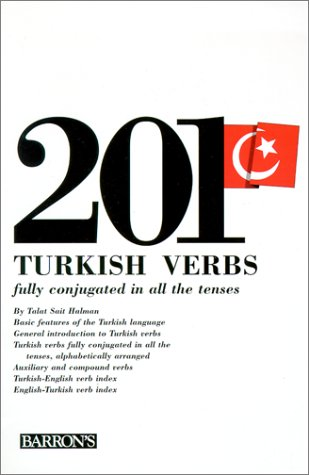 201 Turkish Verbs Fully Conjugated in All the Tenses  1981 edition cover