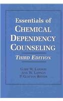 Essentials of Chemical Dependency Counseling  3rd 2003 edition cover