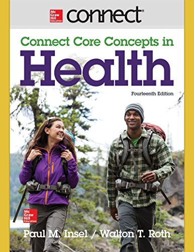CONNECT CORE CONCEPTS IN HEALTH-ACCESS  N/A edition cover