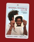 Abnormal Psychology and Life A Dimensional Approach 2nd 2015 9781285052342 Front Cover