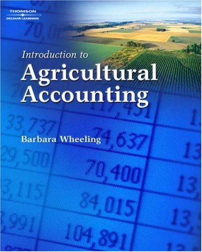 Introduction to Agricultural Accounting   2008 edition cover