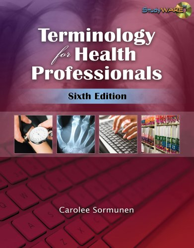 Terminology for Health Professionals  6th 2010 9781428376342 Front Cover