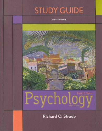 Psychology  9th 2010 edition cover