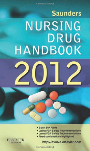 Saunders Nursing Drug Handbook 2012   2011 edition cover