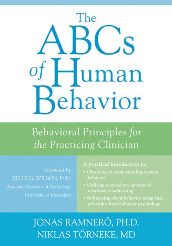 ABCs of Human Behavior Behavioral Principles for the Practicing Clinician  2011 edition cover