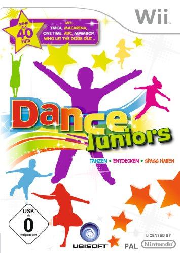 Dance Juniors Nintendo Wii artwork