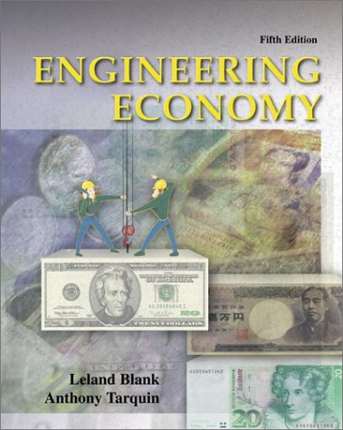 Engineering Economy  5th 2002 edition cover