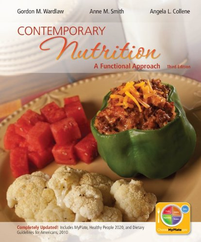 Contemporary Nutrition A Functional Approach 3rd 2013 9780078021343 Front Cover