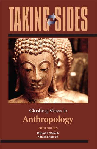 Taking Sides: Clashing Views in Anthropology  5th 2013 edition cover