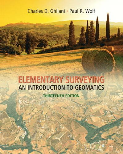 Elementary Surveying An Introduction to Geomatics 13th 2012 edition cover