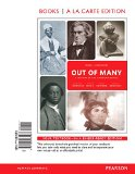 Out of Many + Revel Access Card: A History of the American People; Books a La Carte Edition  2015 edition cover