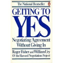 Getting to Yes Negotiating Agreement Without Giving In N/A 9780140065343 Front Cover