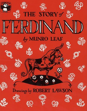 Story of Ferdinand   1964 edition cover