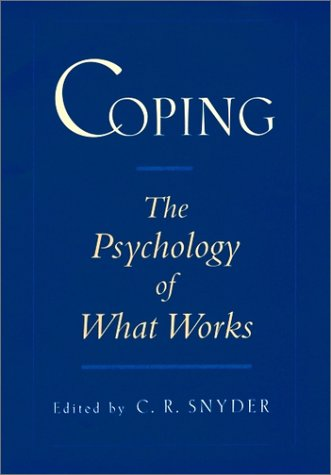 Coping The Psychology of What Works  1999 9780195119343 Front Cover