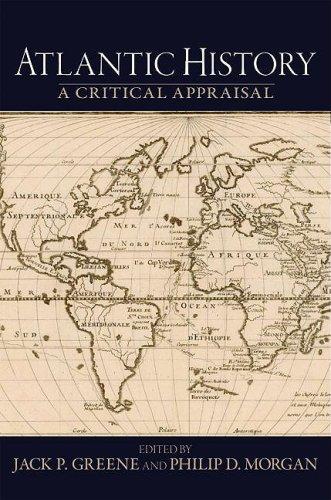 Atlantic History A Critical Appraisal  2009 edition cover