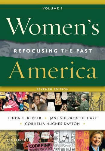 Women's America, Volume 2 Refocusing the Past 7th 2011 edition cover