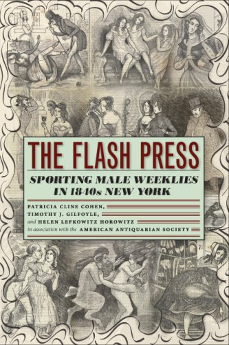 Flash Press Sporting Male Weeklies in 1840s New York  2008 edition cover