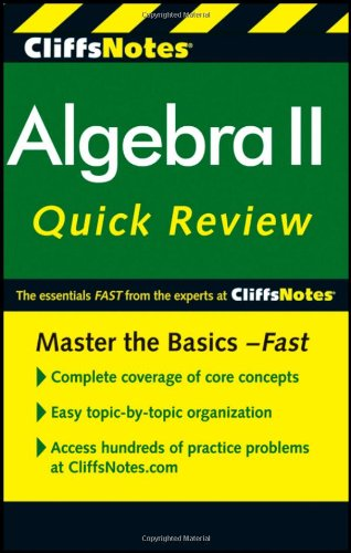 Algebra II Quick Review  2nd 2011 edition cover