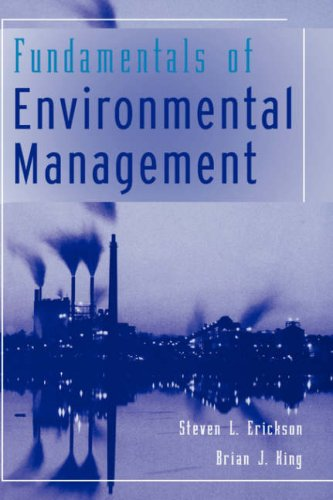 Fundamentals of Environmental Management   1999 edition cover