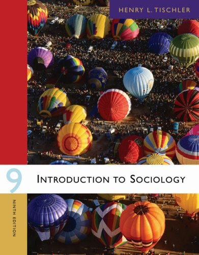 Introduction to Sociology  9th 2007 edition cover