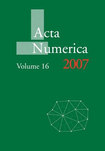 Acta Numerica 2007: Volume 16   2010 9780521174343 Front Cover