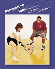 Racquetball Today  2nd 2001 (Revised) 9780534552343 Front Cover