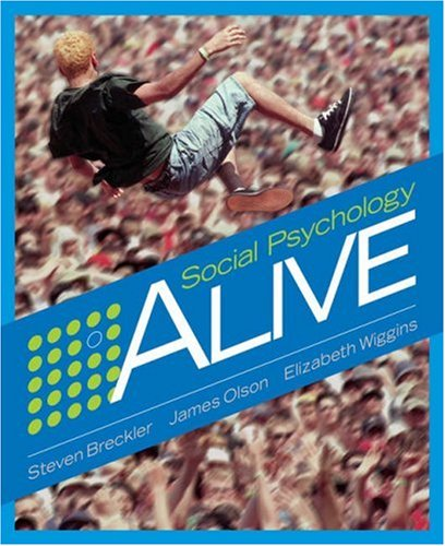 Social Psychology Alive   2006 9780534578343 Front Cover