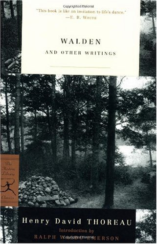 Walden and Other Writings   2000 (Annual) edition cover