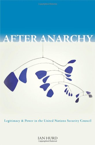 After Anarchy Legitimacy and Power in the United Nations Security Council  2008 edition cover