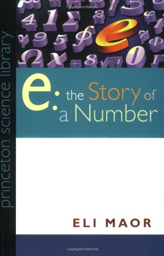E The Story of a Number  1994 edition cover