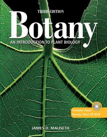 Botany An Introduction to Plant Biology 3rd 2003 (Revised) edition cover