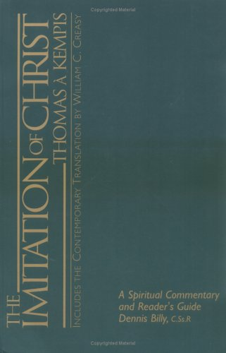 Imitation of Christ A Spiritual Commentary and Reader's Guide  2005 edition cover