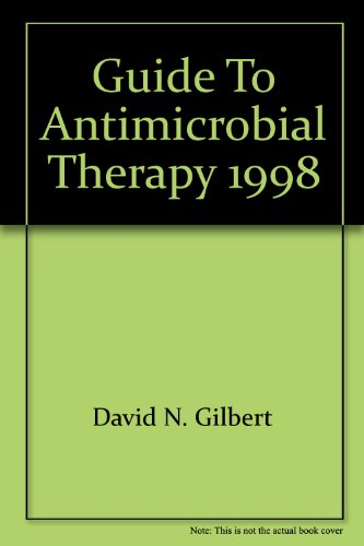 SANFORD GDE.TO ANTIMICROBIAL T 8th 1998 edition cover