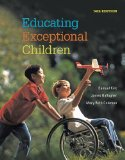 Educating Exceptional Children:   2014 edition cover