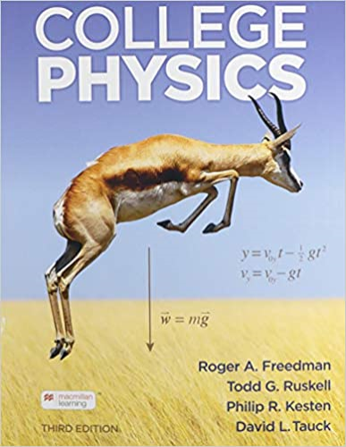 Cover art for College Physics, 3rd Edition