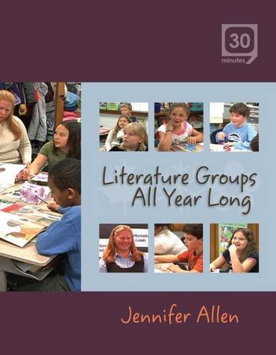 Literature Groups All Year Long:  2008 edition cover