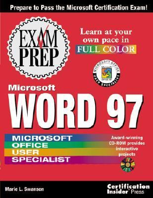 Microsoft Word 97 Exam Prep  10th 1997 9781576102343 Front Cover