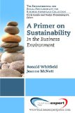 Primer on Sustainability   2013 edition cover