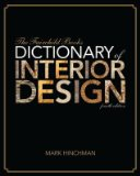 Fairchild Books Dictionary of Interior Design  3rd 2013 edition cover
