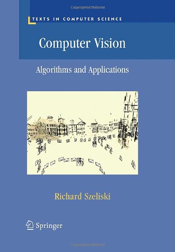 Computer Vision Algorithms and Applications  2011 edition cover